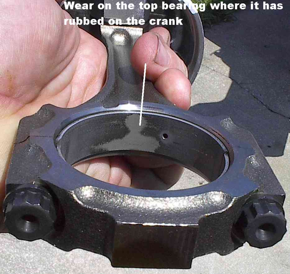 Worn Engine Bearings : Effects of shearing bob is the oil guy