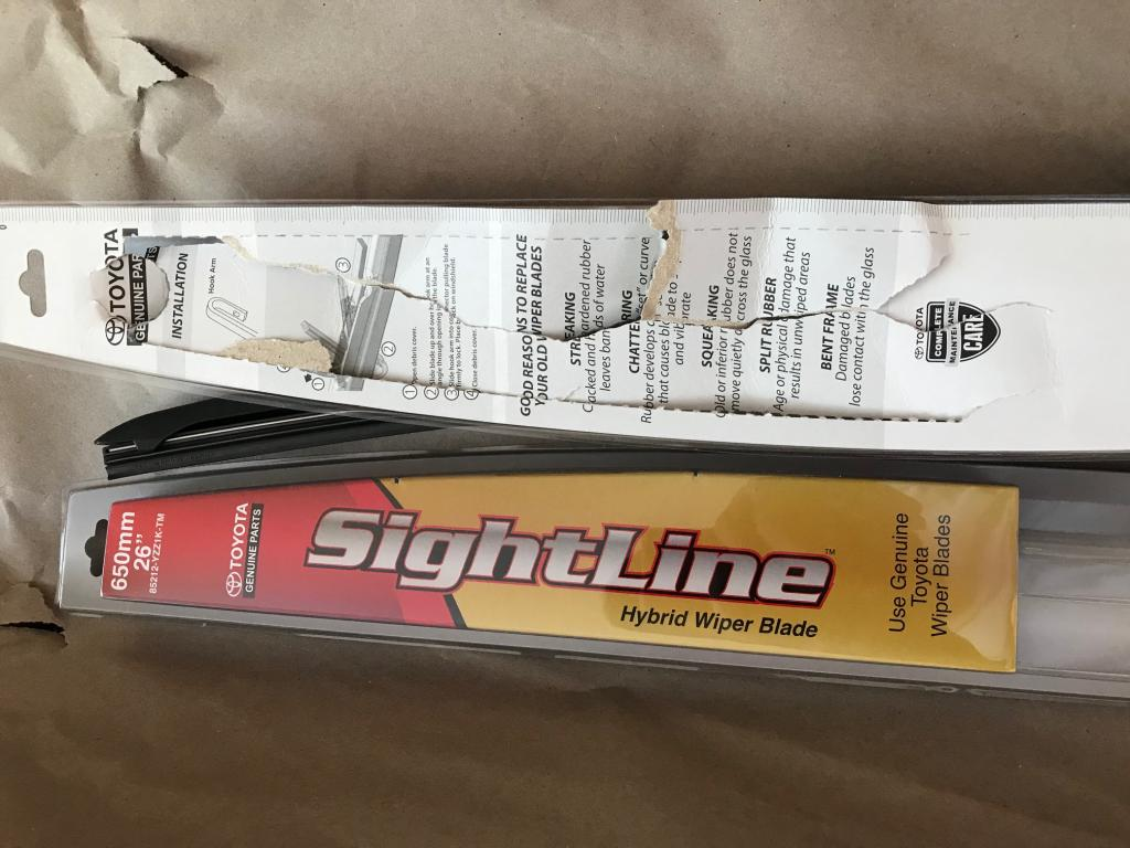 From An Initial Test These Wiper Blades Look Good And Wipe Very Well They Are A Little Bit Noisier Than The Factory Inserts So It Will Be Interesting To