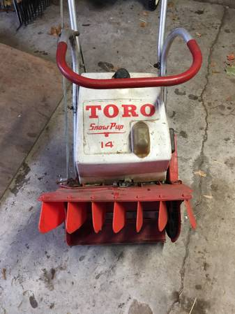 Toro Vintage Snowblower    Craigslist Find - Bob Is The Oil Guy