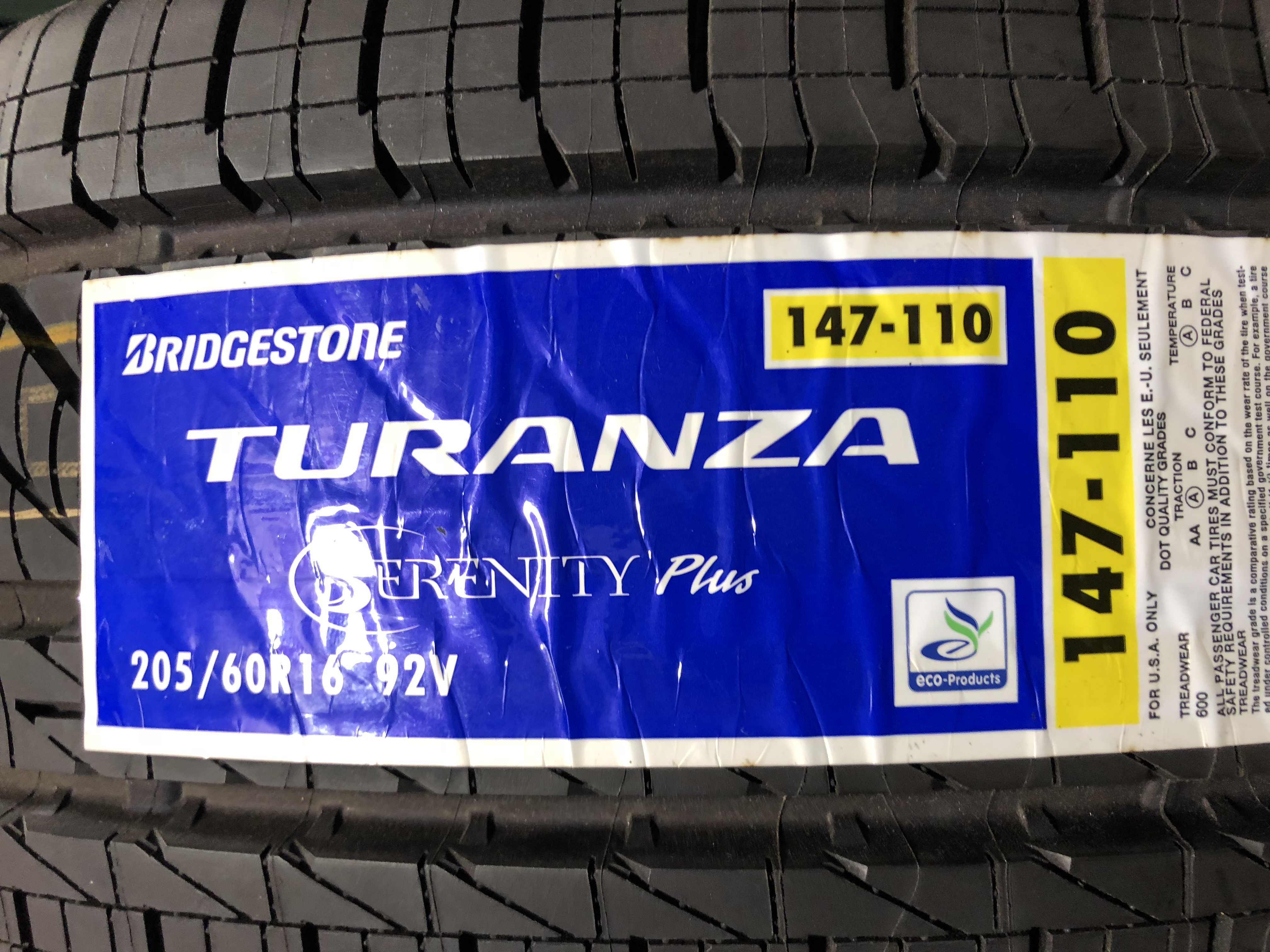Bridgestone Turanza Serenity Plus >> 215 50 R17 Bridgestone Turanza Serenity Plus Bob Is The