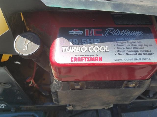 Craftsman Engine swap 16 5 single to 19 5 dual - Bob Is The