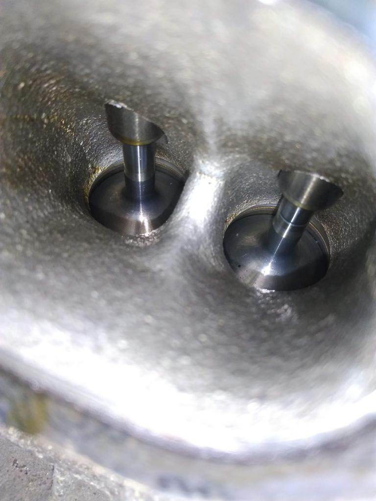 Surprisingly clean intake valves at 187k miles - Bob Is The
