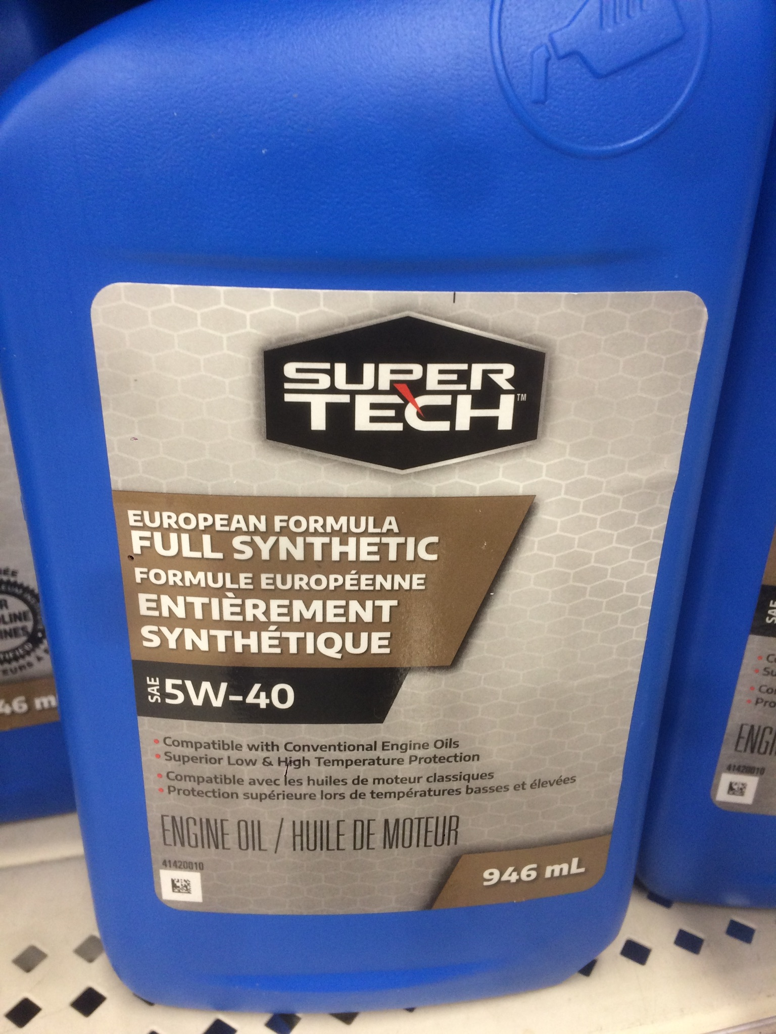 Super Tech Euro Spec Synthetic - Bob Is The Oil Guy