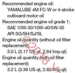 New Yamaha F90 oil change   dipstick vs  manual? - Bob Is The Oil Guy