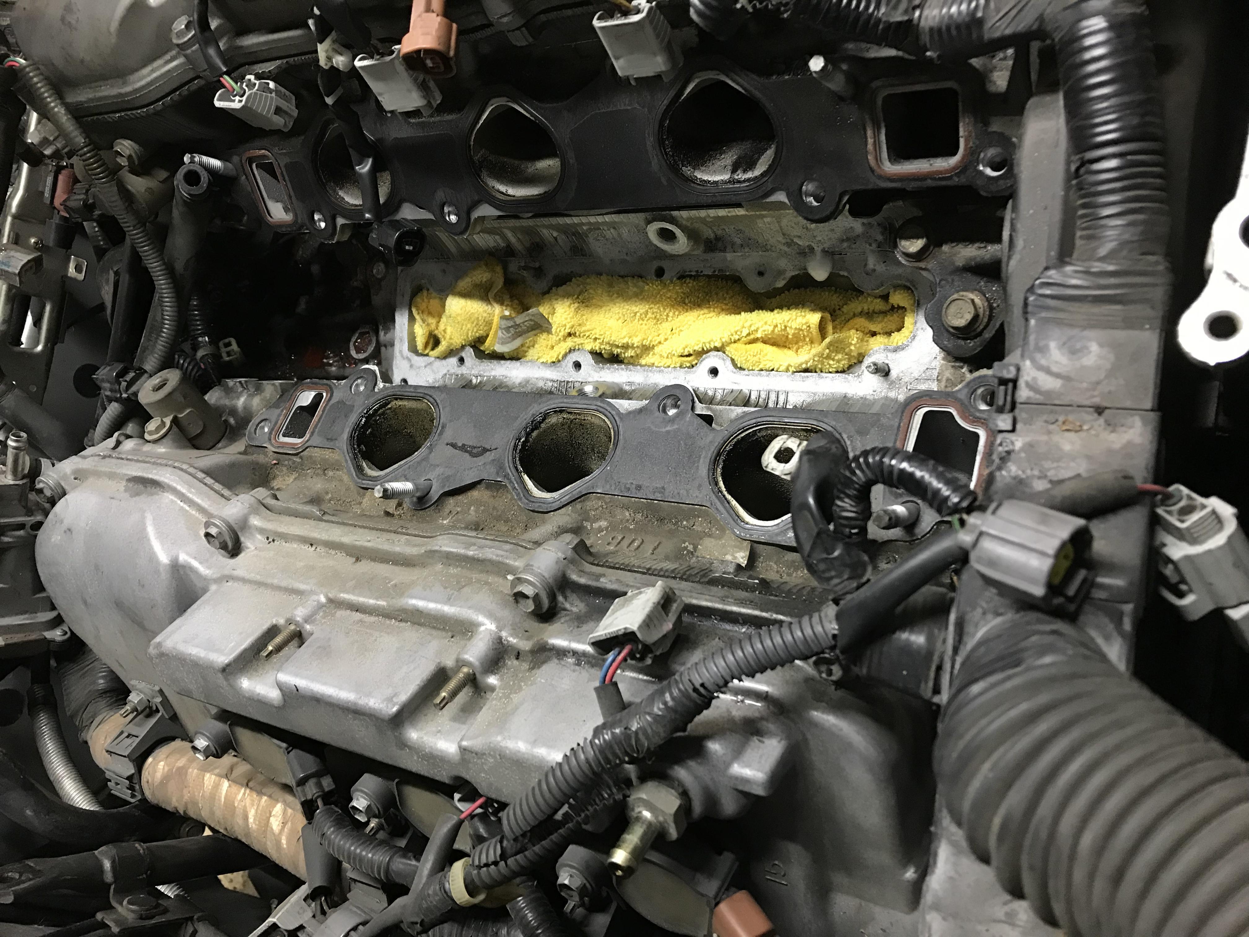 Full Ab C B Db D A E on Honda Accord V6 Engine