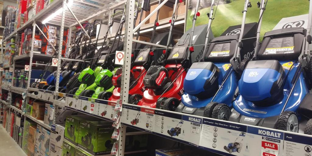 Lowes Has 8 Different Battery Powered Lawn Mowers In Stock Near Me Bob Is The Oil Guy