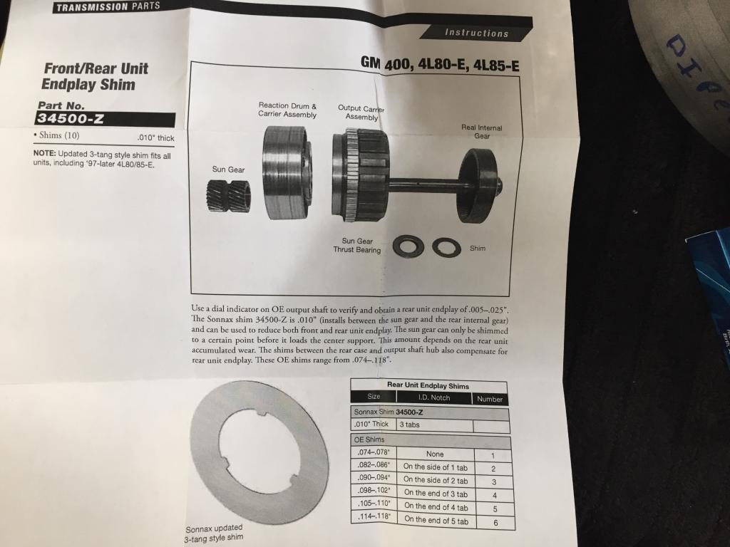 4L80E build - Bob Is The Oil Guy
