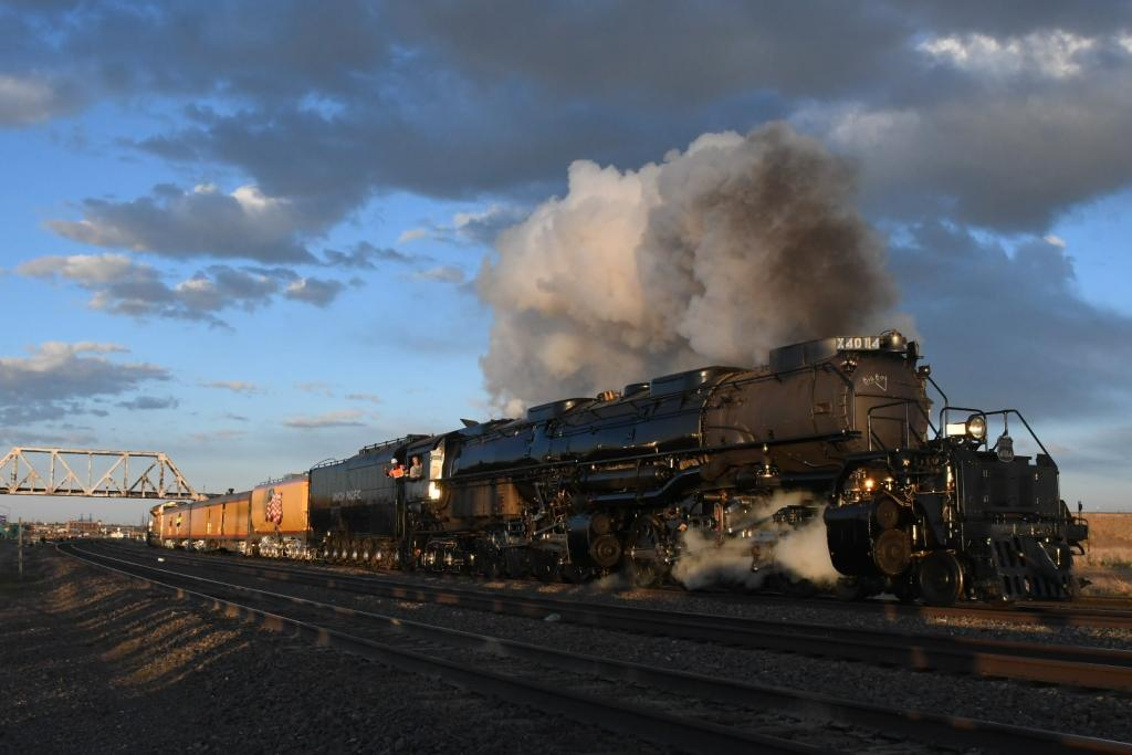 Union Pacific 4014 Big Boy Locomotive Back On The Hi Iron