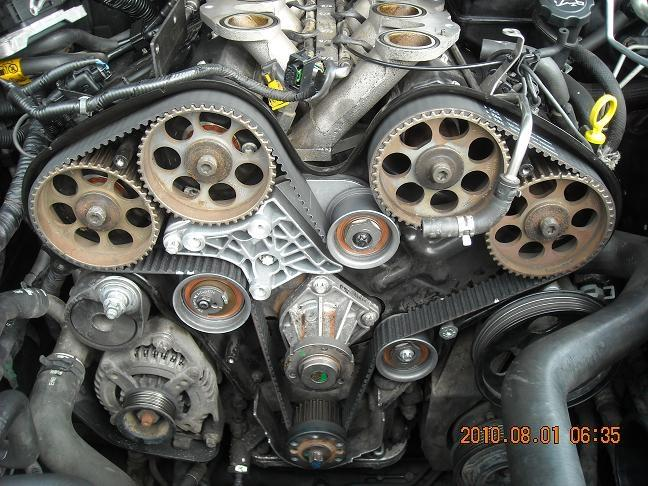 [DIAGRAM_34OR]  First time today: GM 3.2 timing belt | Bob Is The Oil Guy | Cadillac Timing Belt |  | Bob is the Oil Guy